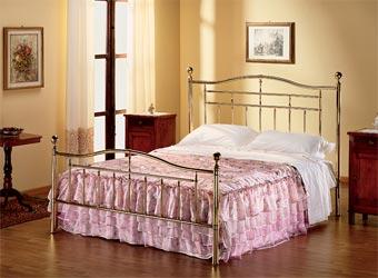Letto matrimoniale in ottone Armony buy in Cavriago on Italiano