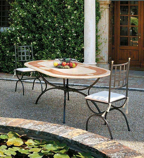 Acquistare Tavolo e sedie in ferro