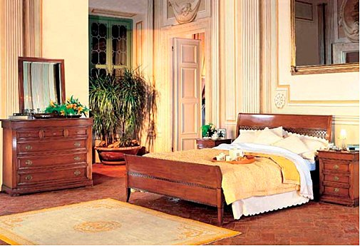 Camera da letto classica le gemme - le fablier in Roma dal negozio on ...