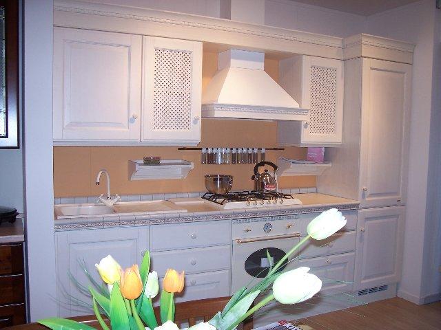 Cucina modello Batimora impiallacciata frassino bianco disponibile ...