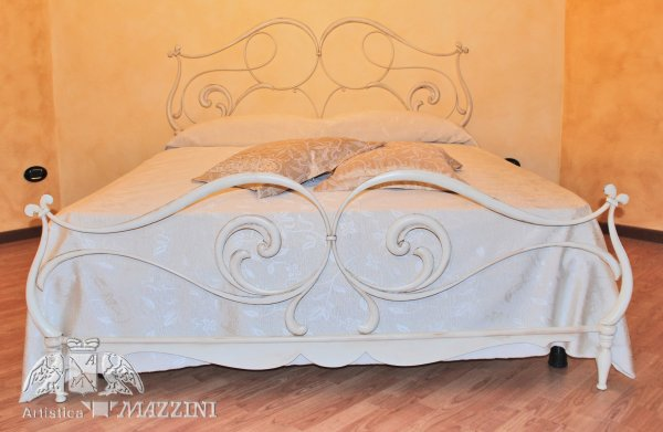 Stunning Letto In Ferro Battuto Bianco Gallery - Acomo.us - acomo.us