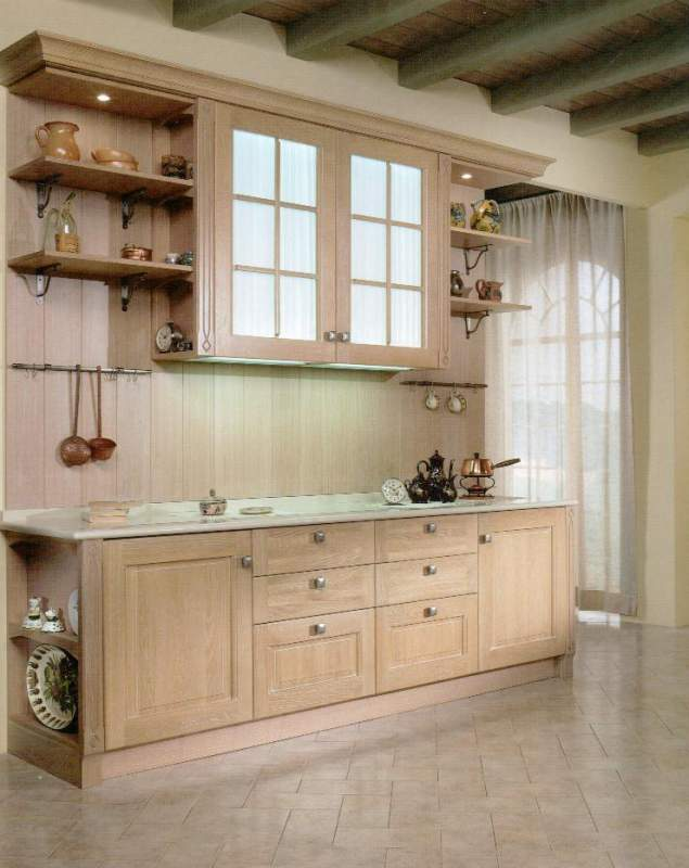 Cucine componibili in legno massello buy in Quarrata on Italiano