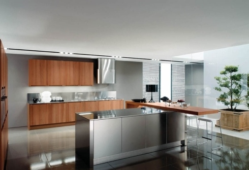 Beautiful Cucine In Alluminio Contemporary - harrop.us - harrop.us