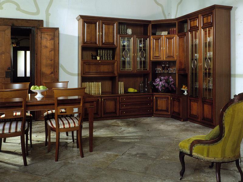 mobili a parete per soggiorno classici : per soggiorno Raffaello 7 ? Comprare Mobili angolari per soggiorno ...
