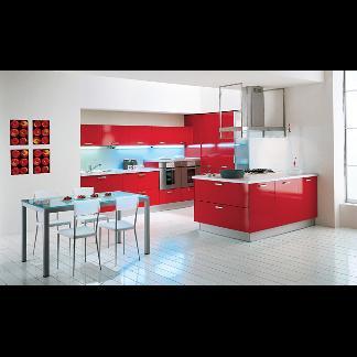 Cucina rossa laccata buy in Varese on Italiano