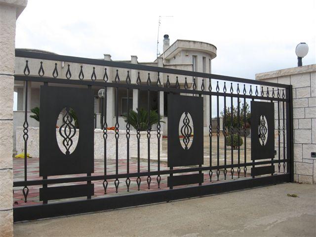 Cancello di ferro in Locorotondo dal negozio on-line Seral, Azienda  Comprare Cancello di ferro ...