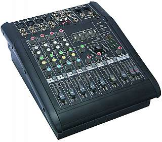 "Acquistare MIXER AUDIO STEREO AMPLIFICATO 6 CANALI ""HOLLYWOOD ""MV-9090"""