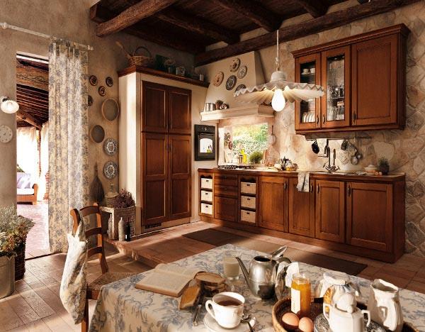 ... Foto Cucina Tosca, da La Casa DellArte Povera, Impresa. Casse da