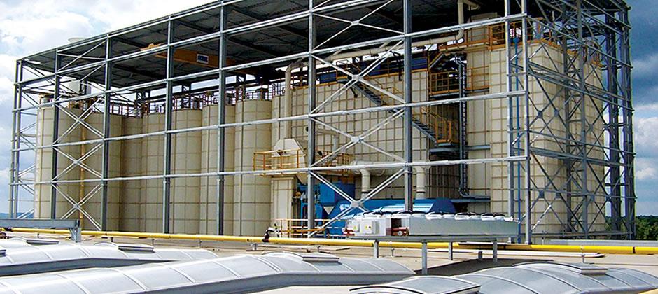 Acquistare Impianti completi di preparazione, distribuzione e recupero della terra (oltre 600 ton/ora)