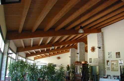 Tetto in legno — Comprare Tetto in legno, Prezzo , Foto Tetto in legno, da Illea, SrL. Travi di ...