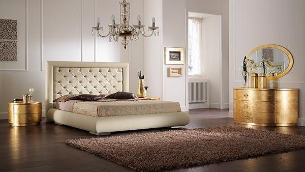camera da letto collezione oro e argento letto chic buy in sant