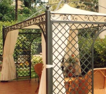 ... ferro battuto, Prezzo , Foto Gazebi in ferro battuto, da Eco Ferro