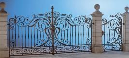 Cancello con cancelletto