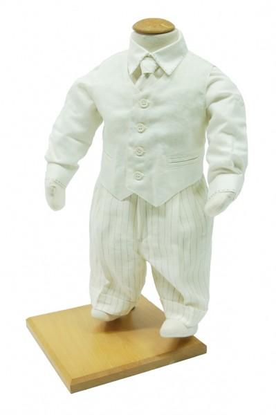 Acquistare Gilet di lino panna per bambino art.IT172