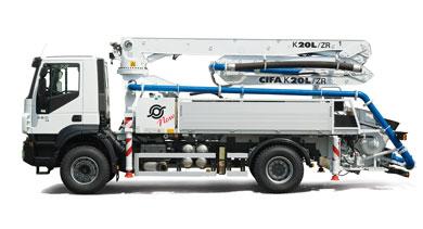 Acquistare Pompe autocarrate - La gamma delle Pompe Autocarrate CIFA - K20L