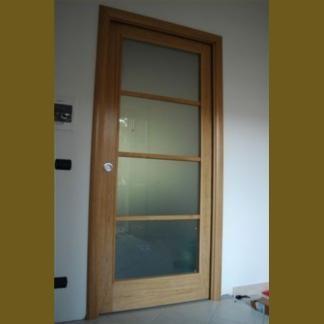 Compro Porta in legno e vetro