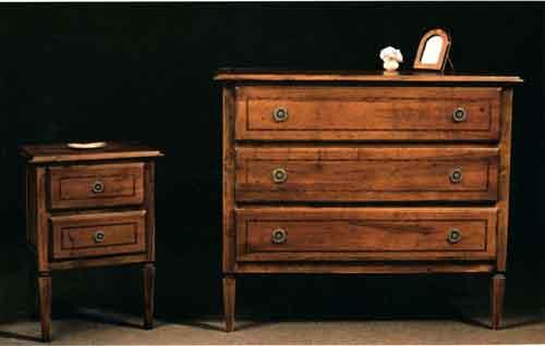 Set mobili in noce nazionale buy in Genova on Italiano