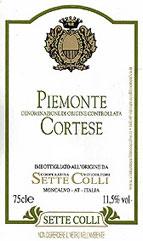 Compro Vino Piemonte Cortese