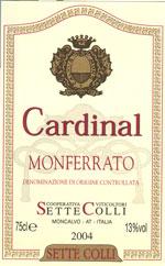 Compro Vino Cardinal Monferrato Rosso DOC