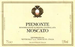 Compro Vino Piemonte Moscato