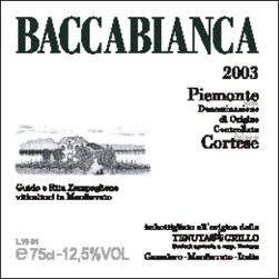 Compro Vino Baccabianca