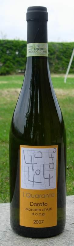 Compro Vino Dorato - Moscato d'Asti docg