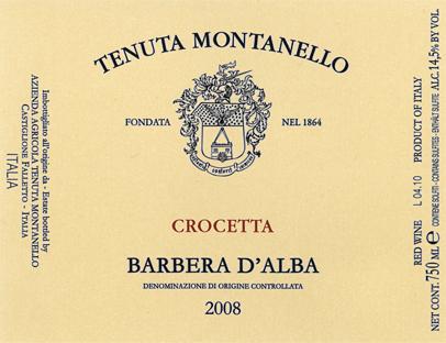 Compro Vino Barbera d'Alba D.O.C. - Crocetta