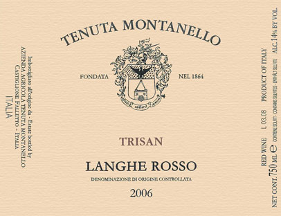 Compro Vino Langhe Rosso D.O.C. - Trisan