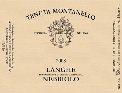 Compro Vino Langhe Nebbiolo D.O.C.