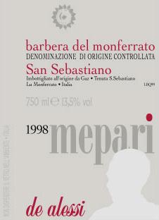 "Compro Vino Barbera ""Mepari"""