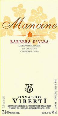 Compro Vino Barbera d'Alba Mancine