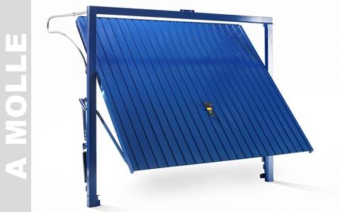 Compro Porte da garage basculanti in Acciaio Zincato MEC EU/EUS-- MAX.MM.5000X2600