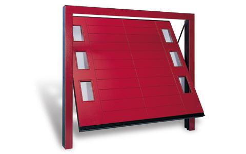 Compro Porte Basculanti Tamburate Legno (Serie Prestige) Per Garage Modello Vision