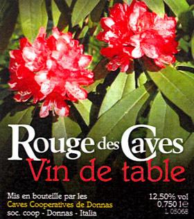 Compro Vino Rouges des Caves