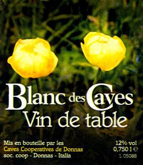 Compro Vino Blanc des Caves