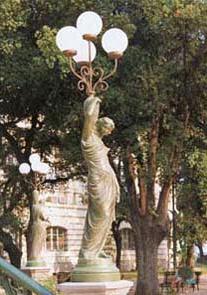 9554.002 - Statua destra in bronzo