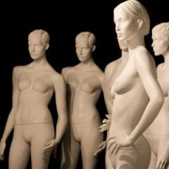 Men mannequins