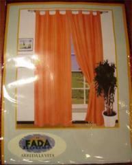 Tenda con passanti- Bordeaux -Finestra 60x240 cm