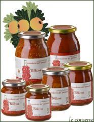 Conserva biologica di pomodorini del piennolo del Vesuvio DOP tradizionale