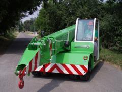 Cranes, self-propelled, jib type