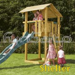 Kit Torre gioco Shelter (escluso il legno)