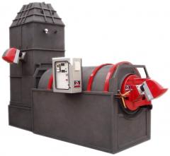 Rotary animal carcass incinerator Mod. ROTOMAC