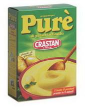 Instant potato mash