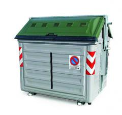 Waste Management Steel Container for Grass Storage