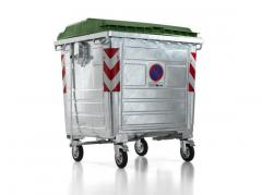 Steel Waste Management Container Metal Dumpsters