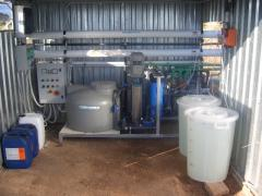 Agricultural water desalter