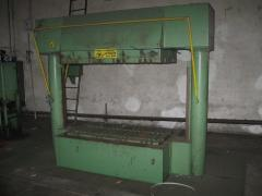 Waste compacting equipment for organic waste