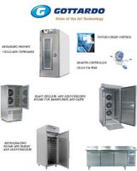 The equipment thermal for minibakeries and