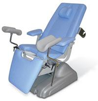 Gynecologic chairs with motor drive