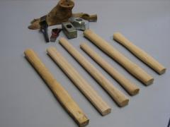 Wooden handles for hammer